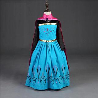 ディズニー(Disney)のエルサドレス アナと雪の女王ドレス 長袖❤️サイズ 100(ドレス/フォーマル)