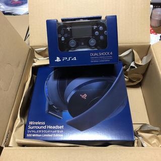 PlayStation4 - PS4  コントローラーとヘッドセット