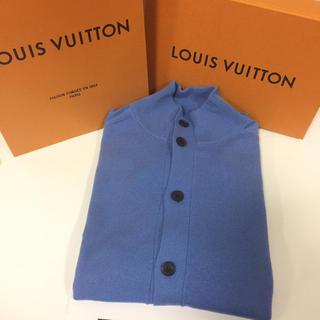ルイヴィトン(LOUIS VUITTON)のこもも様専用 ルイヴィトン カシミヤ セーター カーディガン 美品!(カーディガン)