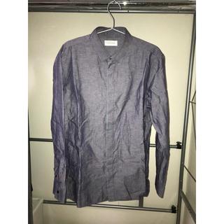 カルバンクライン(Calvin Klein)のCalvin Klein 比翼仕立てシャツ(シャツ)