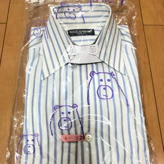ドルチェアンドガッバーナ(DOLCE&GABBANA)のドルチェ&ガッバーナ ワイシャツ Sサイズ(シャツ)