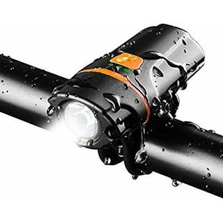 自転車ヘッドライトUSB充電式  (パーツ)