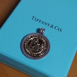 Tiffany & Co. - ☆ティファニー セントクリストファー コインネックレス☆