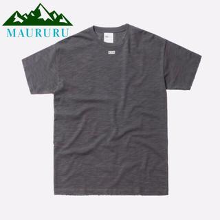 夏物セール‼️ KITH キス JFK BOXロゴ Tシャツ ブルーグレー(Tシャツ/カットソー(半袖/袖なし))