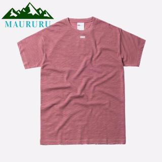 夏物セール‼️ KITH キス JFK BOXロゴ Tシャツ グレープ(Tシャツ/カットソー(半袖/袖なし))
