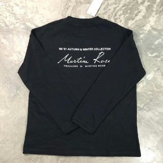 ビームス(BEAMS)の正規品 18aw martine rose マーティンローズ 黒(Tシャツ/カットソー(七分/長袖))