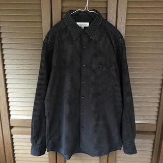 ユニクロ(UNIQLO)の【 UNIQLO 】コーデュロイ / ドット柄 / オープンシャツ(シャツ)