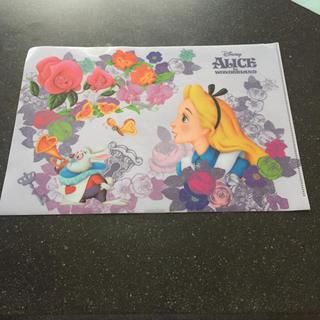 ディズニー(Disney)のDisneyリゾート購入 『不思議の国のアリス』クリアファイル2点セット(クリアファイル)