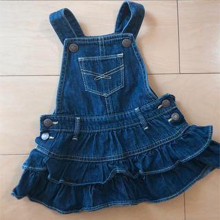 ベビーギャップ(babyGAP)のbabygap♡ジャンパースカート サイズ70(ワンピース)