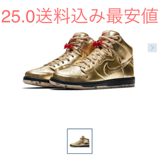 NIKE - 送料込 25.0HUMIDITY × NIKE SB DUNK HIGH QS