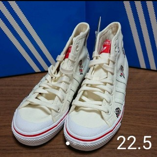 アディダス(adidas)の新品☆adidas☆アディダス☆オリジナルス☆ニッツァ☆ハイカット☆スニーカー(スニーカー)