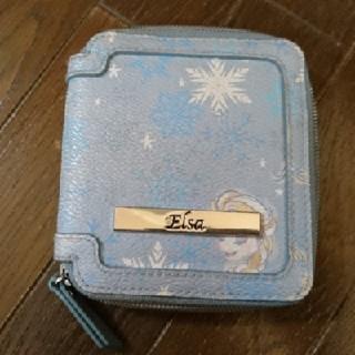 ディズニー(Disney)のアナと雪の女王 エルサ ディズニー 二つ折り財布(財布)