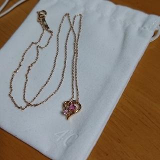 4℃ - ☆k18 4℃ ピンクゴールド ネックレス ハート☆