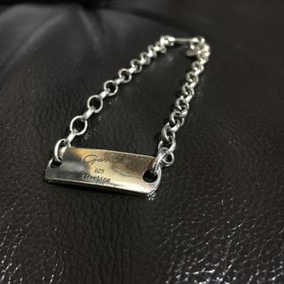 ガルニ(GARNI)のGARNI starling silver ID chain bracelet(ブレスレット)