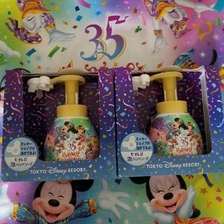 ディズニー(Disney)の35周年 ディズニー ミッキー ハンドソープ 2点セット(ボディソープ / 石鹸)