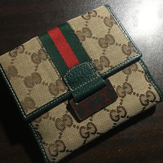 Gucci - GUCCI 折りたたみ財布