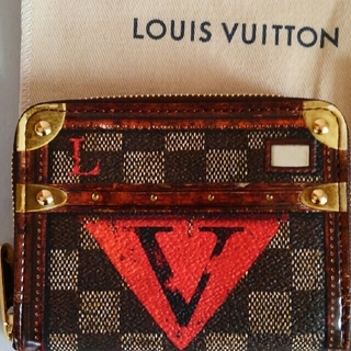 LOUIS VUITTON - ルイヴィトン 伊勢丹 限定 ジッピー コインパース ポップアップストア限定ダミエ