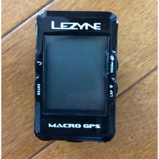 LEZYNE MACRO GPS 純正ケイデンス&スピードセンサー付き(パーツ)