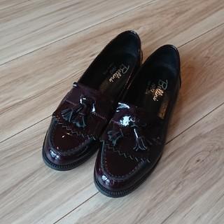 ディエゴベリーニ(DIEGO BELLINI)のディエゴベリーニ ネストローブ エナメルローファー ボルドー(ローファー/革靴)