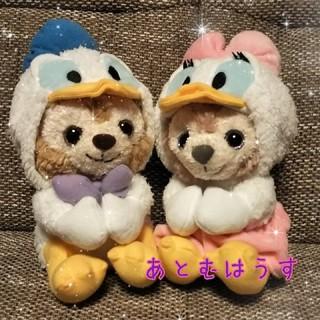 ディズニー(Disney)のドナルドダッフィー&デイジーシェリーメイ(ぬいぐるみ)