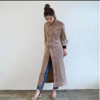 SeaRoomlynn - searoomlynn velvet ロングコート チョコ