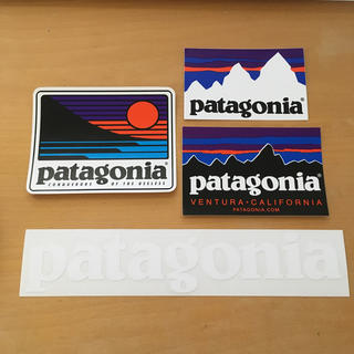 patagonia - パタゴニア 公式 ステッカー&カッティングステッカー