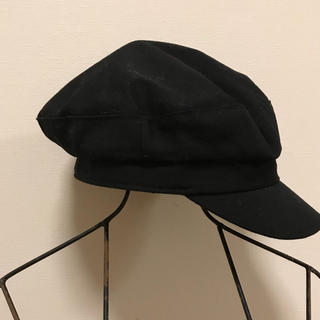 レプシィム(LEPSIM)のブラック帽子キャスケットLEPSIMローリーズファーム新品(キャスケット)
