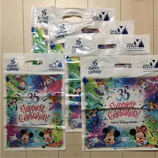 ディズニー(Disney)のディズニー ショッパー袋 ショップ袋 5枚(ショップ袋)