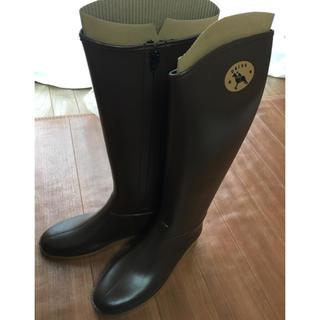 ダフナ(Dafna)のダフナ レインブーツ ブラウン(レインブーツ/長靴)
