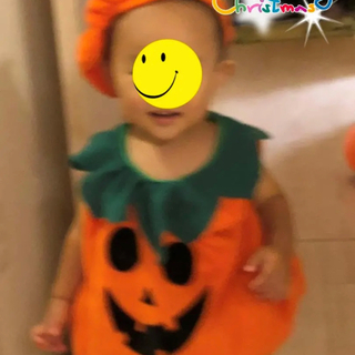 ベビーハロウィンかぼちゃコスチューム衣装赤ちゃんコスプレ(その他)