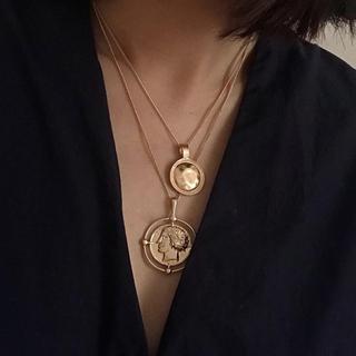 Lochie - ♥️ Vintage rétro European coin necklace
