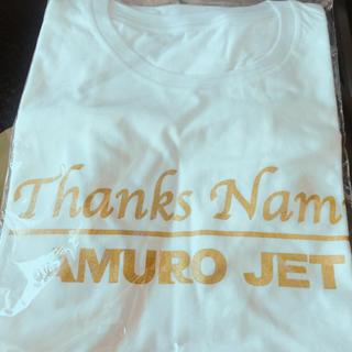 ジャル(ニホンコウクウ)(JAL(日本航空))の未開封*AMURO JET Tシャツ(Tシャツ/カットソー(半袖/袖なし))