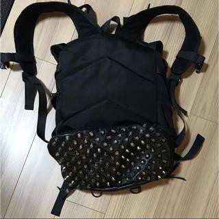 ZARA - メメントイズム リュック バックパック 黒 ブラック スタッズ