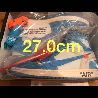 NIKE - Nike air Jordan 1 x off-white nrg