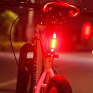 LEDテールライト 自転車 ロードバイク USB充電式 点灯 点滅 リアライト(パーツ)