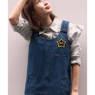 miumiu - miumiu ♡ 2016 紗栄子さん着用 チェック フリル 長袖シャツ