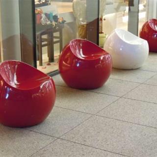 Francfranc - ボールチェア 赤 二つ!廃盤品 お買い得