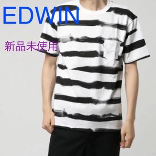 ビームス(BEAMS)の新品 EDWIN ボーダーTシャツ(Tシャツ/カットソー(半袖/袖なし))