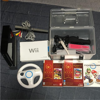 ウィー(Wii)のwii本体、ソフトセット(家庭用ゲーム本体)