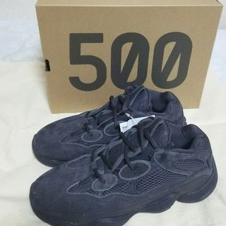 adidas - 【新品 27cm】YEEZY 500 UTILITY BLACK