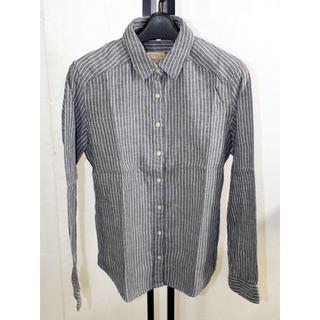 ムジルシリョウヒン(MUJI (無印良品))の無印良品 ストライプシャツ 新品M A-230(シャツ/ブラウス(長袖/七分))