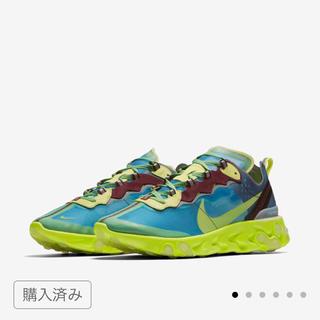 NIKE - 早い者勝ち!赤字覚悟!他にも多数出品有! Nike リアクト エレメント87