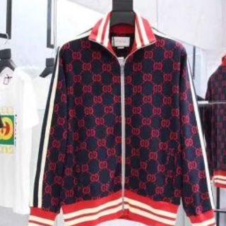 グッチ(Gucci)のジャージジャケット ジョギングパンツ ショルダーバッグ ダウンジャケット(ジャージ)