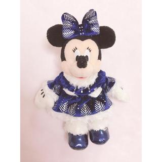 ディズニー(Disney)のミニーマウス♡ぬいぐるみバッジ(キャラクターグッズ)