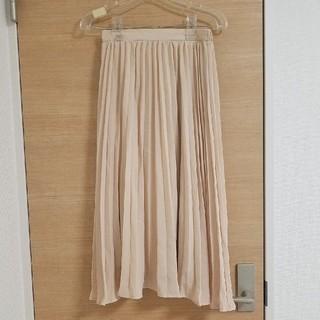 ジーユー(GU)のGU☆プリーツスカート(ひざ丈スカート)
