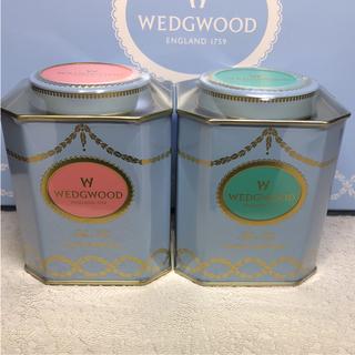 WEDGWOOD - ☆ウェッジウッド 紅茶 2缶 イングリッシュブレックファースト&アフタヌーン