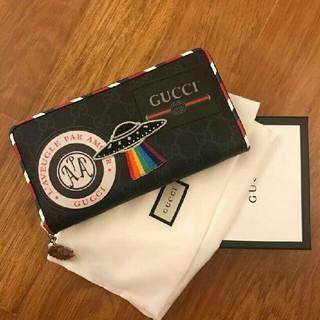 グッチ(Gucci)のGUCCI Night Courrier 長財布(長財布)