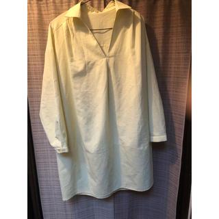 サンカンシオン(3can4on)のシャツ チュニック 長袖(チュニック)