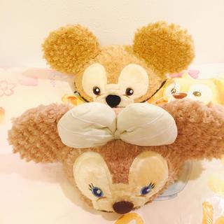ディズニー(Disney)の上海♡ディズニー♡ダッフィー♡シェリーメイ♡イヤーハット(キャラクターグッズ)