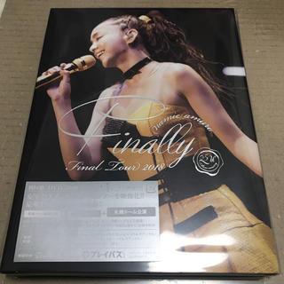 安室奈美恵  2018 Finally 札幌公演 DVD 初回限定盤 新品未開封(ミュージック)